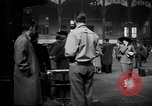 Image of Pennsylvania Railroad Station New York City USA, 1940, second 58 stock footage video 65675053168
