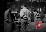 Image of Pennsylvania Railroad Station New York City USA, 1940, second 59 stock footage video 65675053168