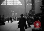 Image of Pennsylvania Railroad Station New York United States USA, 1940, second 7 stock footage video 65675053169