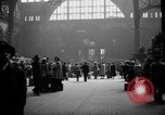 Image of Pennsylvania Railroad Station New York United States USA, 1940, second 9 stock footage video 65675053169