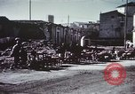Image of demolished buildings Foggia Italy, 1944, second 17 stock footage video 65675053181