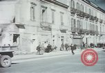 Image of demolished buildings Foggia Italy, 1944, second 20 stock footage video 65675053181
