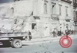 Image of demolished buildings Foggia Italy, 1944, second 21 stock footage video 65675053181