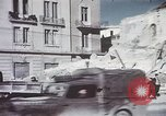 Image of demolished buildings Foggia Italy, 1944, second 24 stock footage video 65675053181