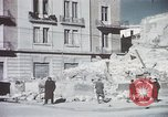 Image of demolished buildings Foggia Italy, 1944, second 27 stock footage video 65675053181