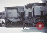 Image of demolished buildings Foggia Italy, 1944, second 29 stock footage video 65675053181