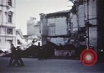Image of demolished buildings Foggia Italy, 1944, second 33 stock footage video 65675053181