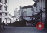 Image of demolished buildings Foggia Italy, 1944, second 34 stock footage video 65675053181