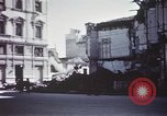 Image of demolished buildings Foggia Italy, 1944, second 38 stock footage video 65675053181
