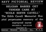 Image of memorial to Edith Cavell Brussels Belgium, 1920, second 9 stock footage video 65675053216