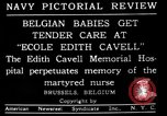 Image of memorial to Edith Cavell Brussels Belgium, 1920, second 15 stock footage video 65675053216