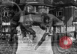 Image of memorial to Edith Cavell Brussels Belgium, 1920, second 27 stock footage video 65675053216
