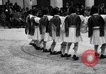 Image of Dancers and musicians perform in Zappeion Hall  Athens Greece, 1920, second 19 stock footage video 65675053228
