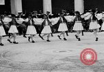Image of Dancers and musicians perform in Zappeion Hall  Athens Greece, 1920, second 27 stock footage video 65675053228