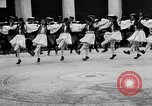 Image of Dancers and musicians perform in Zappeion Hall  Athens Greece, 1920, second 28 stock footage video 65675053228