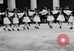 Image of Dancers and musicians perform in Zappeion Hall  Athens Greece, 1920, second 30 stock footage video 65675053228