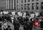 Image of May Day Parade New York City USA, 1941, second 37 stock footage video 65675053241