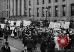 Image of May Day Parade New York City USA, 1941, second 43 stock footage video 65675053241