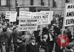 Image of May Day Parade New York City USA, 1941, second 58 stock footage video 65675053241