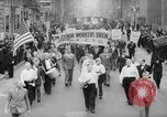 Image of May Day Parade New York City USA, 1941, second 2 stock footage video 65675053243