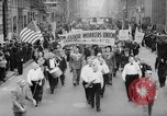 Image of May Day Parade New York City USA, 1941, second 3 stock footage video 65675053243