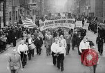 Image of May Day Parade New York City USA, 1941, second 4 stock footage video 65675053243