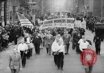 Image of May Day Parade New York City USA, 1941, second 5 stock footage video 65675053243