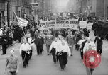 Image of May Day Parade New York City USA, 1941, second 7 stock footage video 65675053243