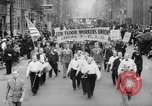 Image of May Day Parade New York City USA, 1941, second 8 stock footage video 65675053243
