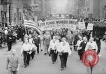 Image of May Day Parade New York City USA, 1941, second 9 stock footage video 65675053243