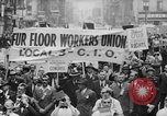 Image of May Day Parade New York City USA, 1941, second 10 stock footage video 65675053243