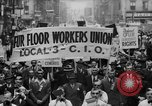 Image of May Day Parade New York City USA, 1941, second 13 stock footage video 65675053243