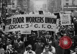 Image of May Day Parade New York City USA, 1941, second 14 stock footage video 65675053243