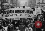 Image of May Day Parade New York City USA, 1941, second 15 stock footage video 65675053243