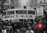 Image of May Day Parade New York City USA, 1941, second 16 stock footage video 65675053243