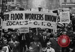 Image of May Day Parade New York City USA, 1941, second 17 stock footage video 65675053243