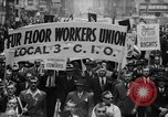 Image of May Day Parade New York City USA, 1941, second 18 stock footage video 65675053243