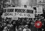Image of May Day Parade New York City USA, 1941, second 19 stock footage video 65675053243