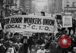 Image of May Day Parade New York City USA, 1941, second 20 stock footage video 65675053243