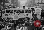 Image of May Day Parade New York City USA, 1941, second 21 stock footage video 65675053243