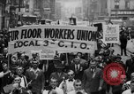 Image of May Day Parade New York City USA, 1941, second 22 stock footage video 65675053243
