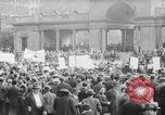 Image of May Day Parade New York City USA, 1941, second 33 stock footage video 65675053243