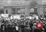 Image of May Day Parade New York City USA, 1941, second 34 stock footage video 65675053243