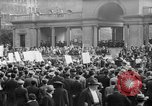 Image of May Day Parade New York City USA, 1941, second 36 stock footage video 65675053243