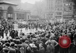 Image of May Day Parade New York City USA, 1941, second 58 stock footage video 65675053243