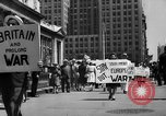 Image of picket line New York City USA, 1941, second 7 stock footage video 65675053245