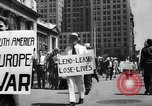 Image of picket line New York City USA, 1941, second 15 stock footage video 65675053245