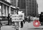 Image of picket line New York City USA, 1941, second 16 stock footage video 65675053245