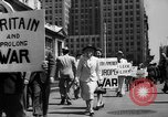 Image of picket line New York City USA, 1941, second 24 stock footage video 65675053245