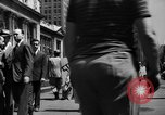 Image of picket line New York City USA, 1941, second 25 stock footage video 65675053245